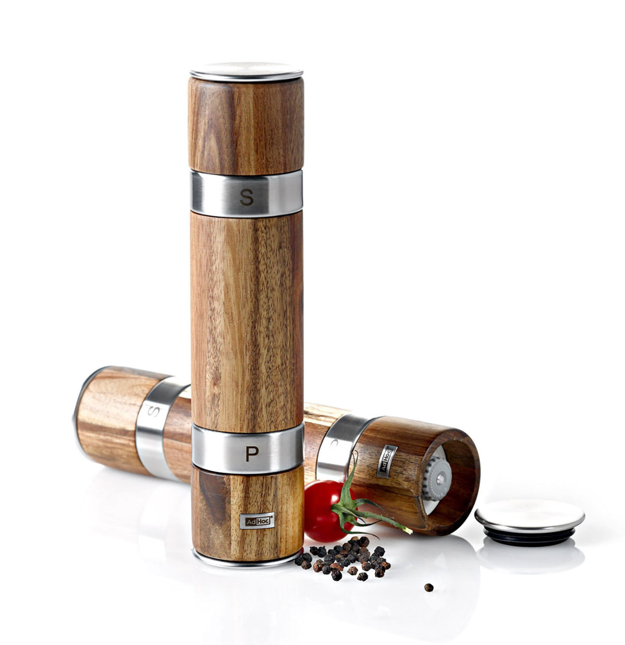 AdHoc Doppelmühle für Pfeffer und Salz »Duomill«