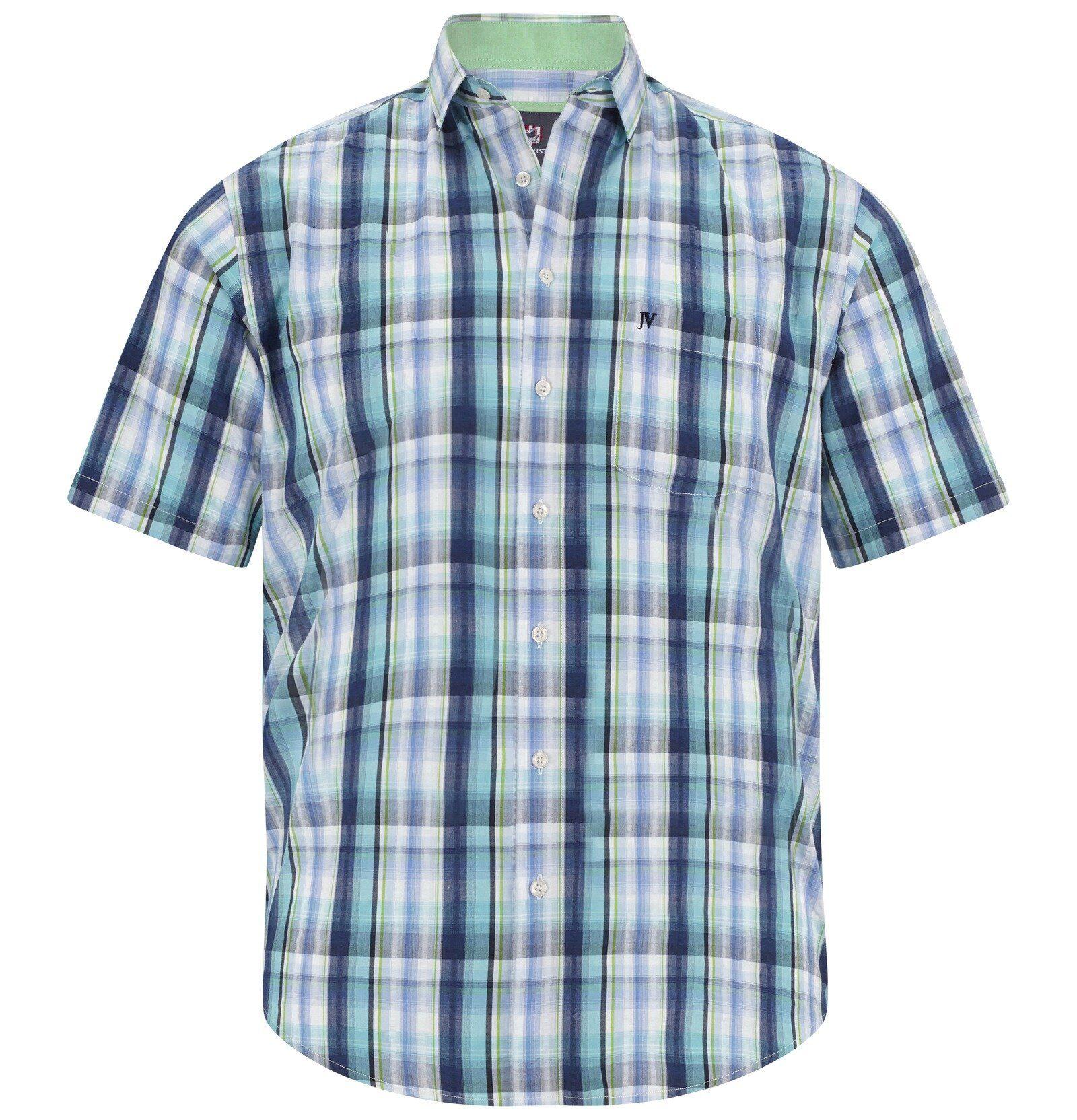 Jan Vanderstorm Kurzarmhemd »RASMUND« aus Seersucker-Qualität