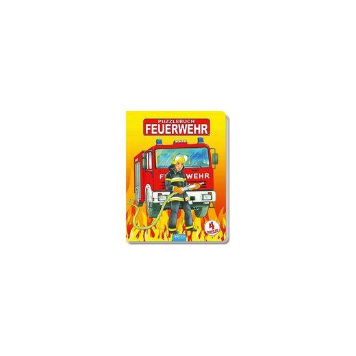 Trötsch Verlag Puzzlebuch Feuerwehr