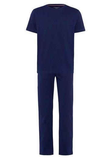 TOMMY HILFIGER Pyjama mit Kurzarmshirt