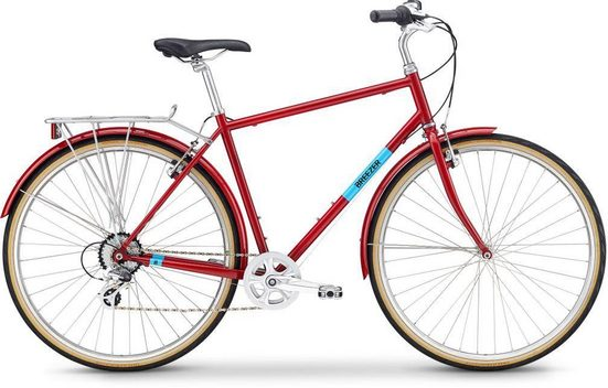 BREEZER Bikes Urbanbike »DOWNTOWN EX«, 8 Gang Shimano Altus Schaltwerk, Kettenschaltung