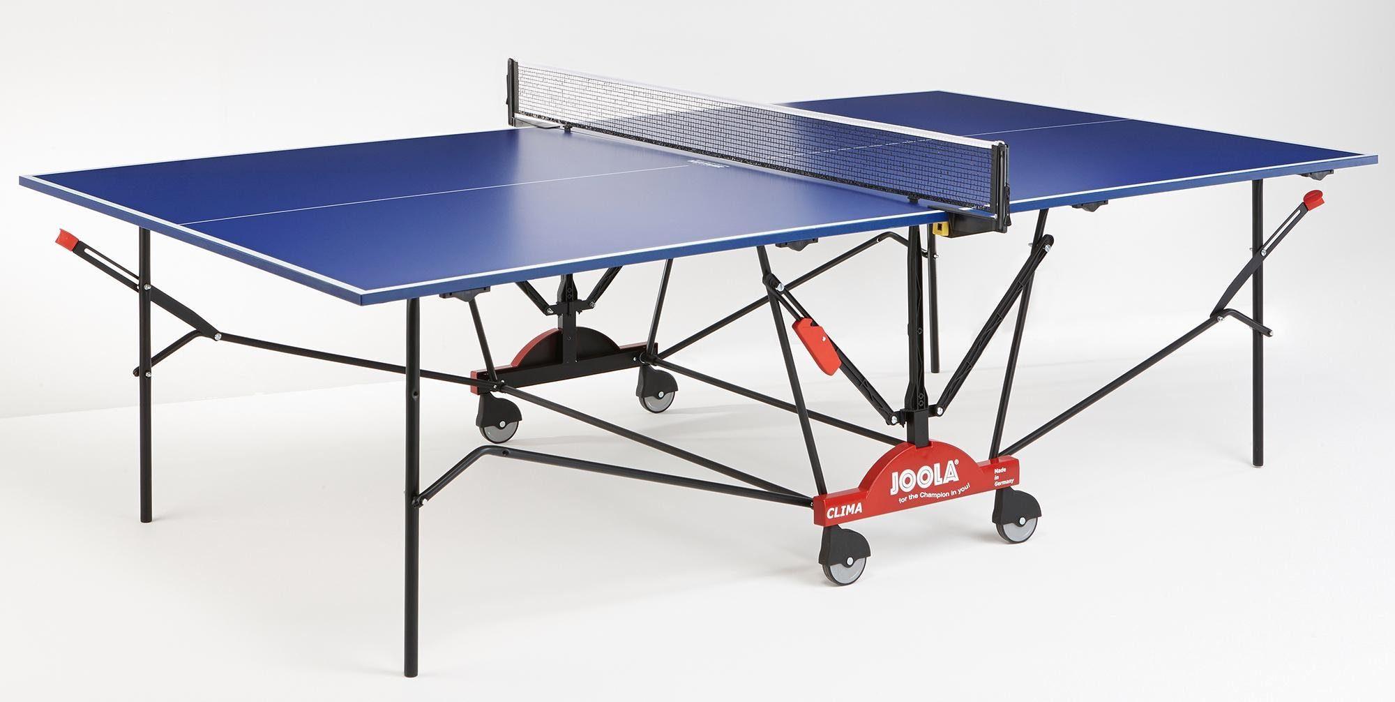Joola Tischtennisplatte »Clima«, Das Netz ist im Lieferumfang enthalten