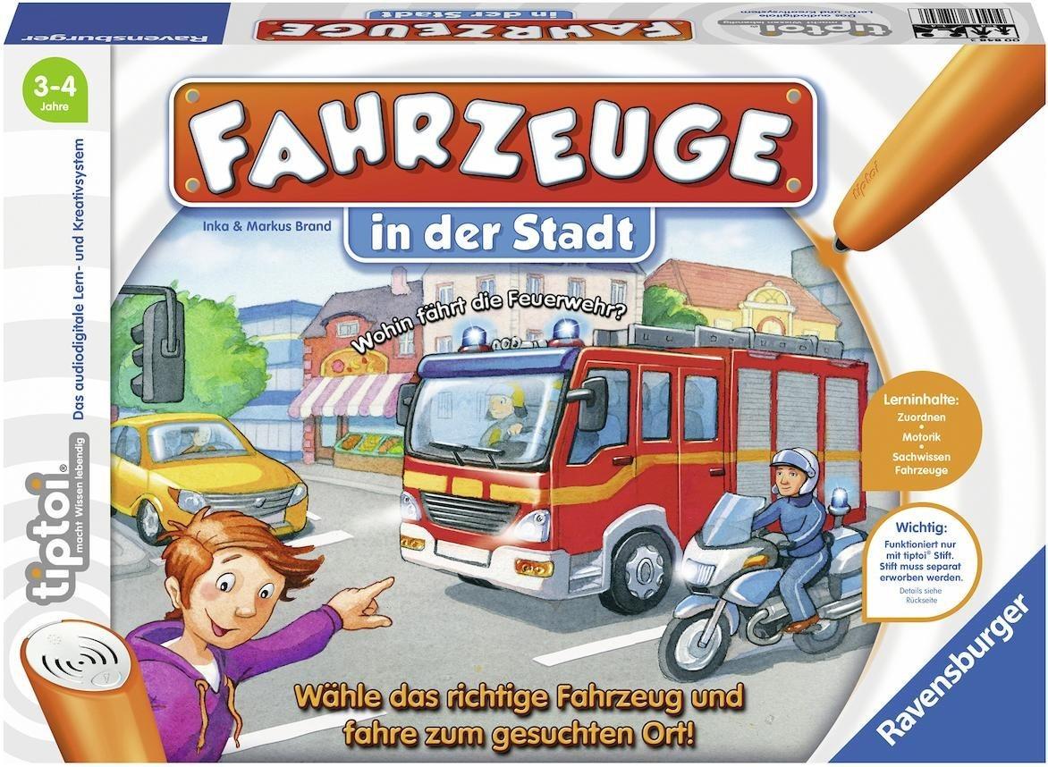 Ravensburger Spiel tiptoi® , »Fahrzeuge in der Stadt«