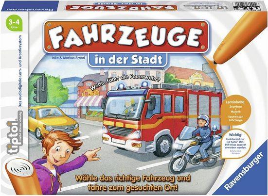 Ravensburger Spiel, »tiptoi® Fahrzeuge in der Stadt«