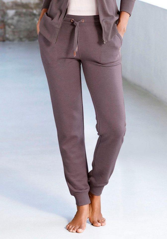 Bench. Loungehose mit aufgesetzten Taschen | Bekleidung > Umstandsmode > Umstandstuniken | Braun | Bench.
