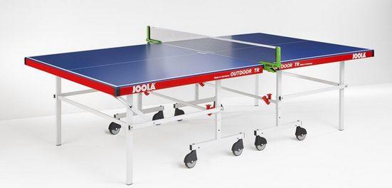 Joola Tischtennisplatte »Outdoor TR« (6-tlg), Das Netz ist nicht im Lieferumfang enthalten