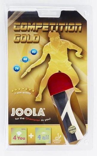 Joola Tischtennisschläger »Competition Gold« (Set)