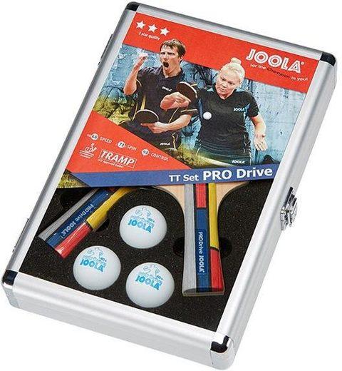 Joola Tischtennisschläger »Pro Drive« (Set, mit Schlägerhülle, mit Tennisbällen)