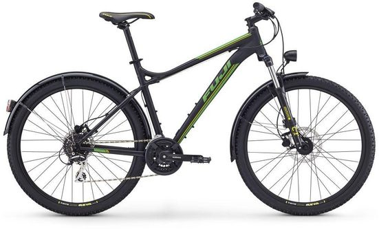 FUJI Bikes Mountainbike »NEVADA 27.5 1.7 EQP«, 24 Gang Shimano Acera Schaltwerk, Kettenschaltung