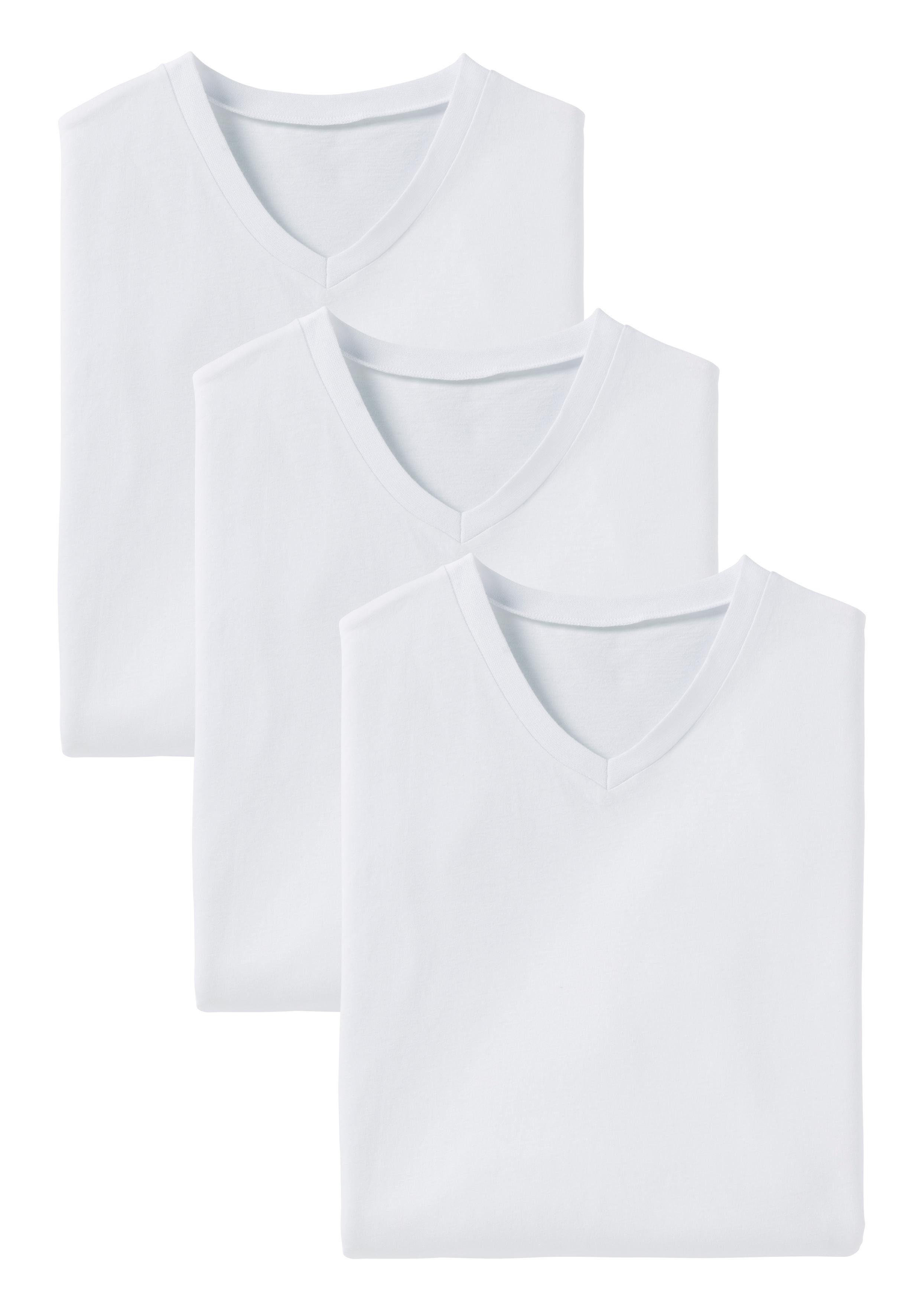 s.Oliver Bodywear V-Shirt (Packung, 3er-Pack) in uni online kaufen qiWRER