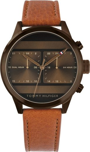 TOMMY HILFIGER Multifunktionsuhr »Casual, 1791594«