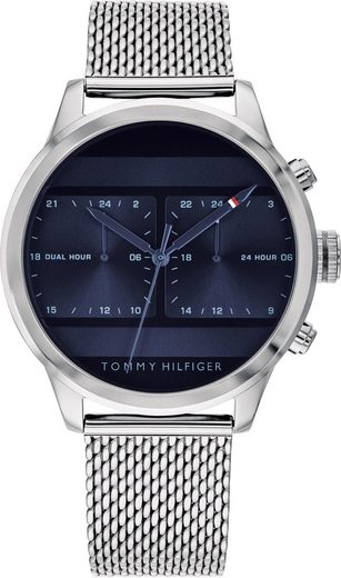 TOMMY HILFIGER Multifunktionsuhr »Casual, 1791596«