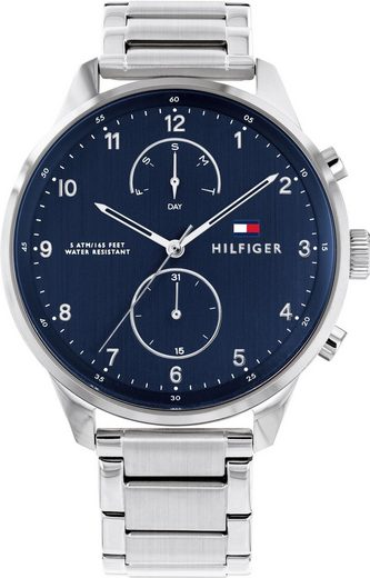 TOMMY HILFIGER Multifunktionsuhr »Casual, 1791575«
