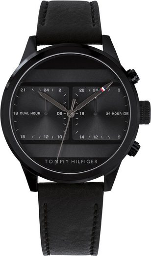 TOMMY HILFIGER Multifunktionsuhr »Casual, 1791595«