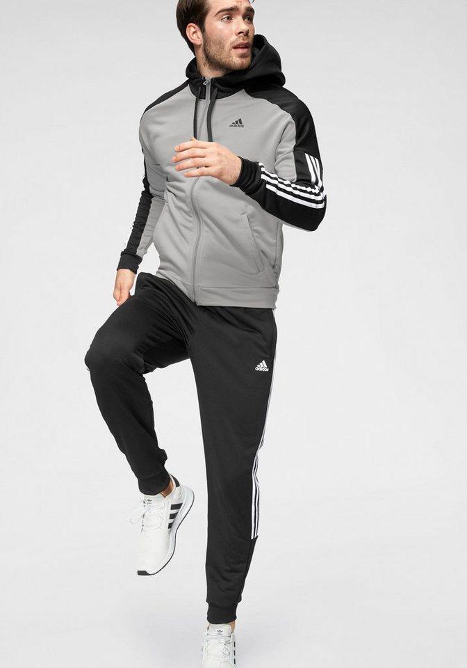 adidas Performance Trainingsanzug »TRACKSUIT GAME TIME« | Sportbekleidung > Sportanzüge > Trainingsanzüge | Grau | adidas Performance