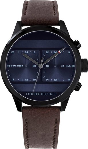 TOMMY HILFIGER Multifunktionsuhr »Casual, 1791593«