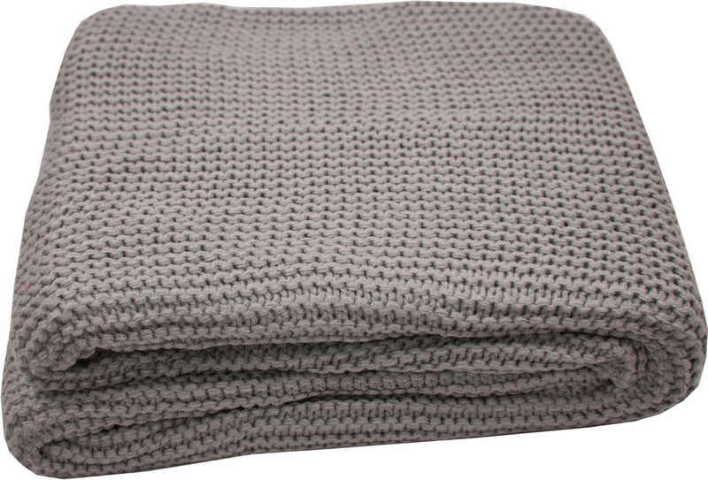 Plaid »Plain Knit«, TOM TAILOR, Zeitlos schön