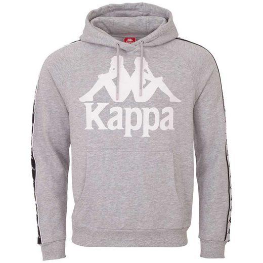 Kappa Kapuzensweatshirt »AUTHENTIC ERNIE« mit verschiedenfarbigem Logowebband an den Ärmeln