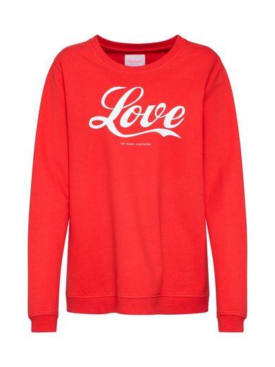 OH YEAH! Sweatshirt »pop love«