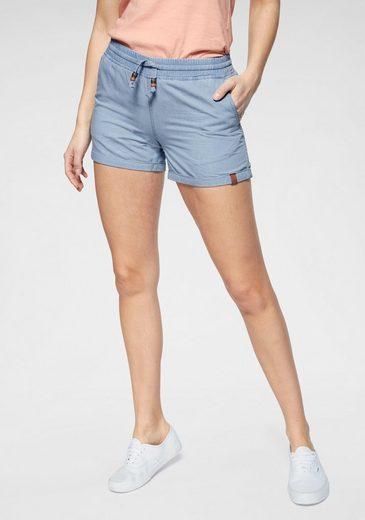 Alife & Kickin Jeansshorts »JaneAK« kurze Hose in Stretchqualität mit Zierperlen