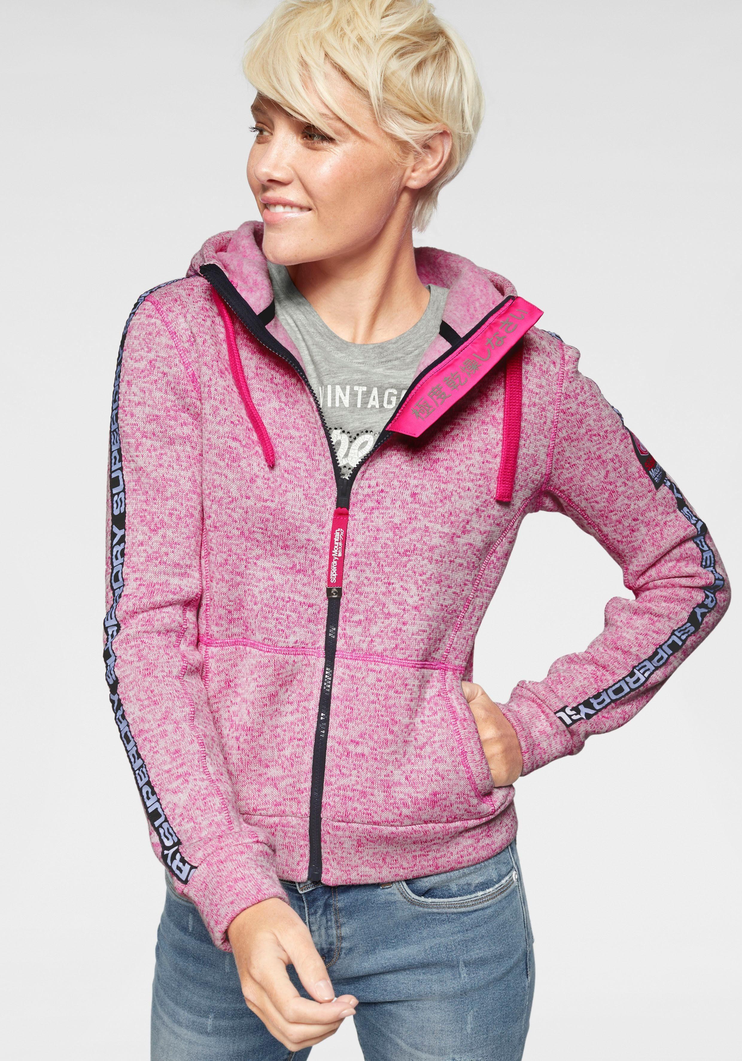 Superdry Kapuzensweatshirt »SD STORM TAPE ZIPHOOD« mit extravagantem Markenlabeling online kaufen | OTTO