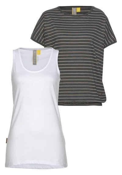 dad1a38a1d5ef4 2-in-1 Shirts für Damen » Doppellagiges Shirt kaufen | OTTO