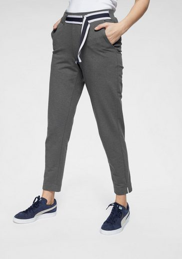 AJC Jogger Pants mit kontrastfarbigen Bändern & Schnallendetail