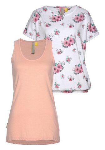 ALIFE AND KICKIN Du viename marškinėliai »SunnyAK« (Rin...