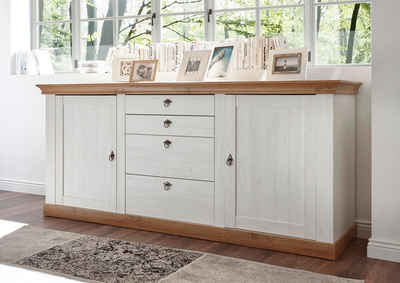 home affaire sideboard cremona breite 210 cm