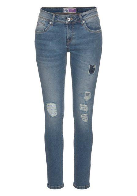 Hosen - Superdry Skinny fit Jeans »CASSIE SKINNY« im Used Look ›  - Onlineshop OTTO