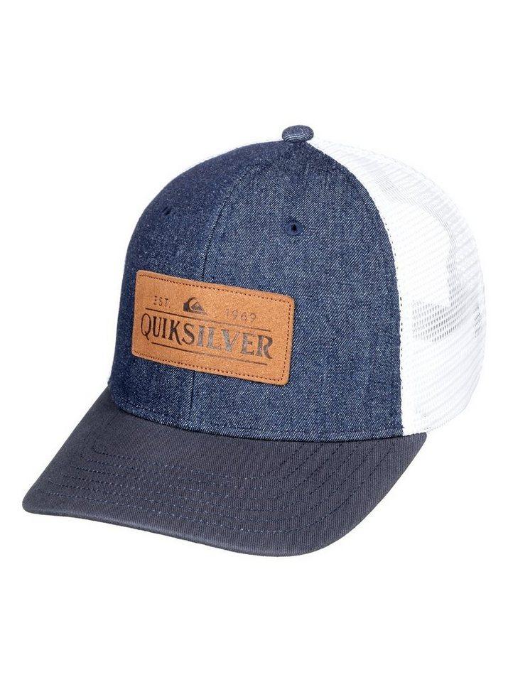 Herren Quiksilver  Trucker Cap Vine Beater blau | 03613374149403