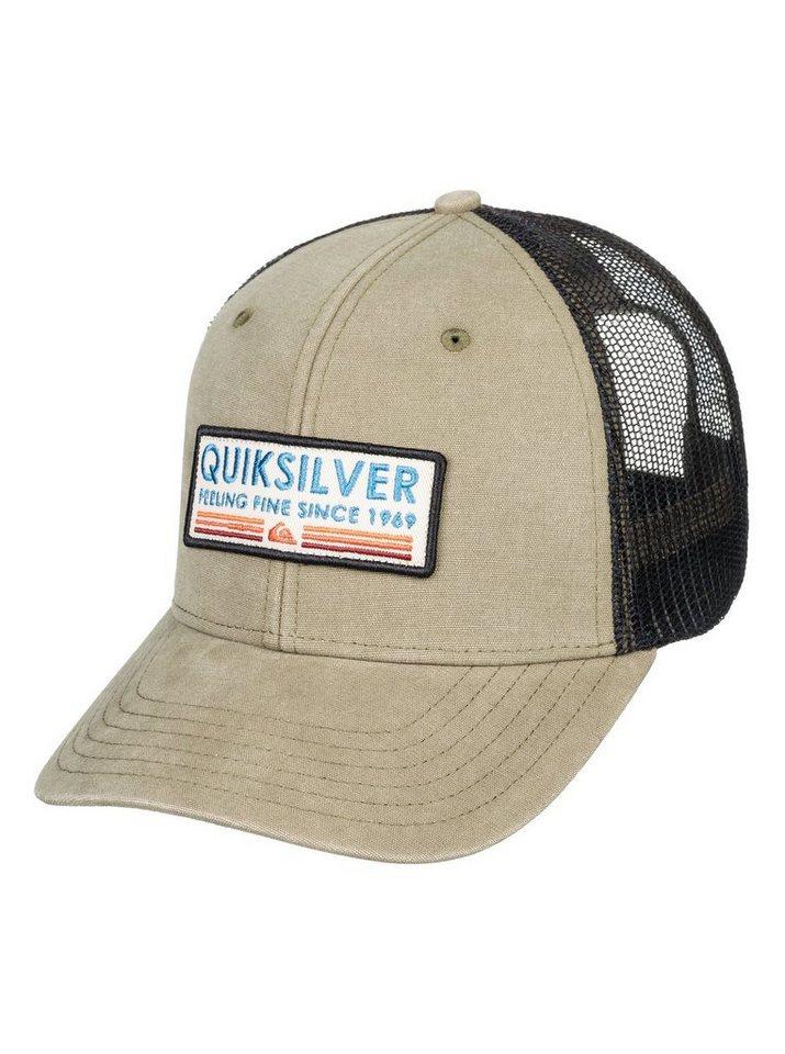 Herren Quiksilver  Trucker Cap Rig Tender braun | 03613374149724
