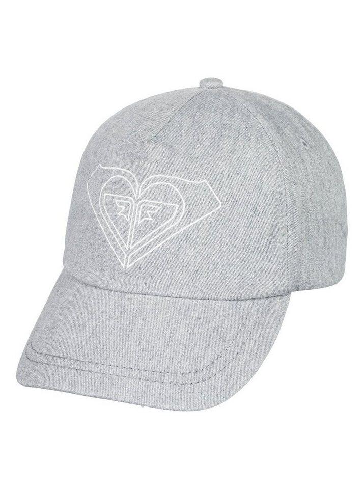 Roxy Baseball Cap »Extra Innings B« | Accessoires > Caps > Baseball Caps | Grau | Twill - Leder | Roxy