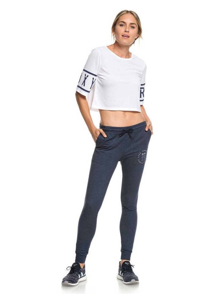 Roxy Yogahose »Scuba Cloud B« | Sportbekleidung > Sporthosen > Yogahosen | Blau | Roxy