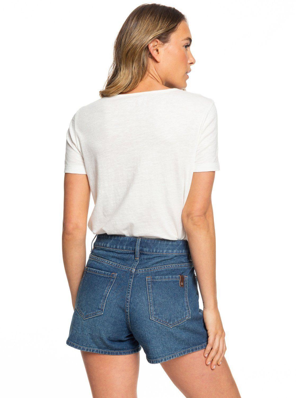Best Kaufen Jeansshorts Roxy »my Online Friend« LGSzUVMqjp