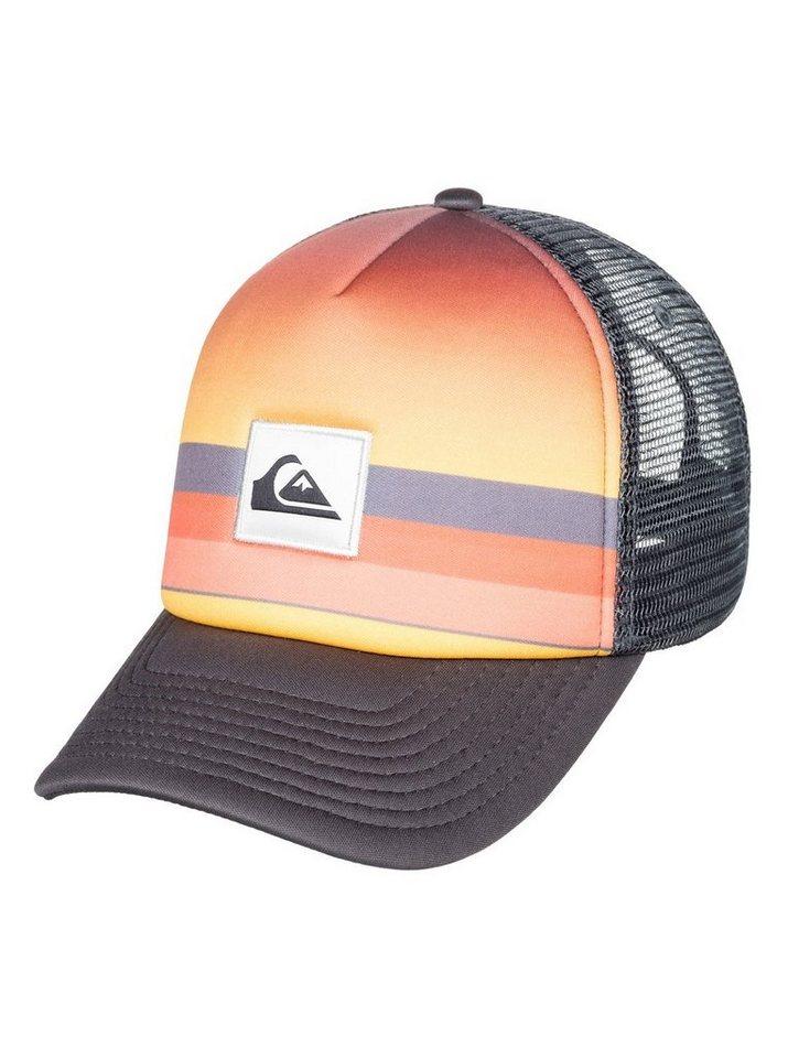 Herren Quiksilver  Trucker Cap Sets Coming schwarz | 03613374149625
