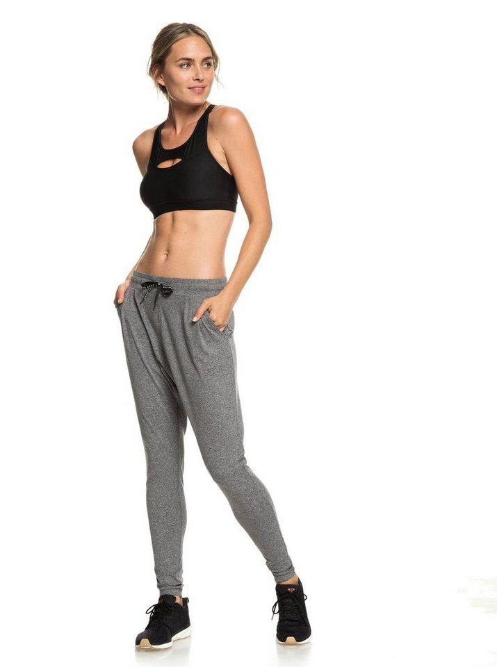 Roxy Yogahose »Jungle Roots« | Sportbekleidung > Sporthosen > Yogahosen | Schwarz | Roxy