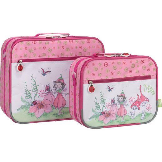 toito wear® Kinderkofferset Mara, pink, 2-tlg.