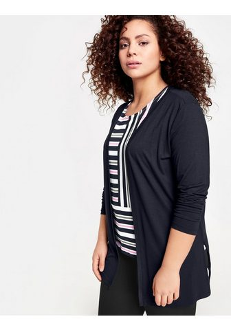 SAMOON Куртка трикотажный »Offene Shirt...