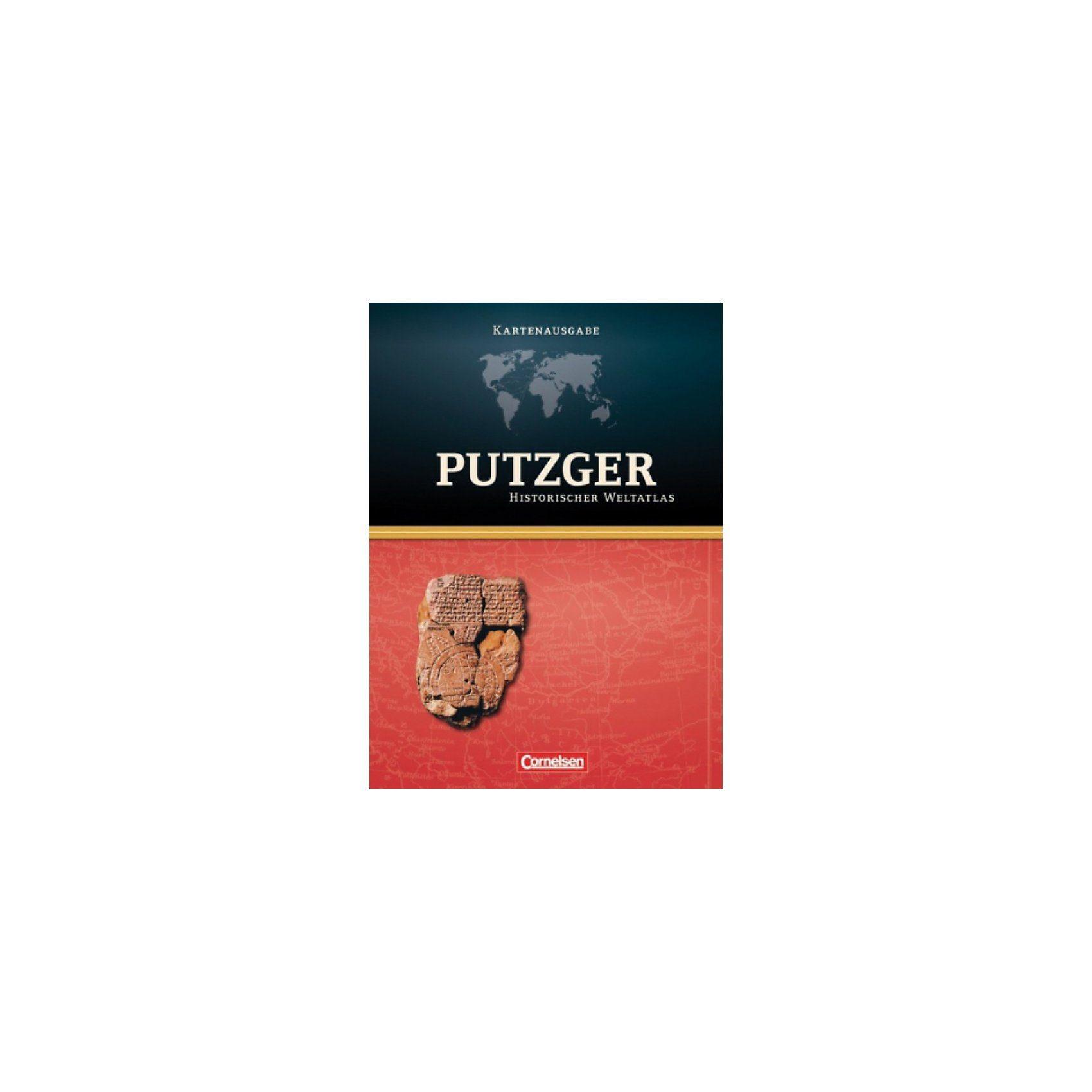 Cornelsen Verlag Putzger historischer Weltatlas: Kartenausgabe, Atlas mit Reg