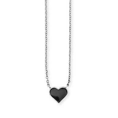 CAÏ Collier »925/- Sterling Silber rhodiniert Herz«