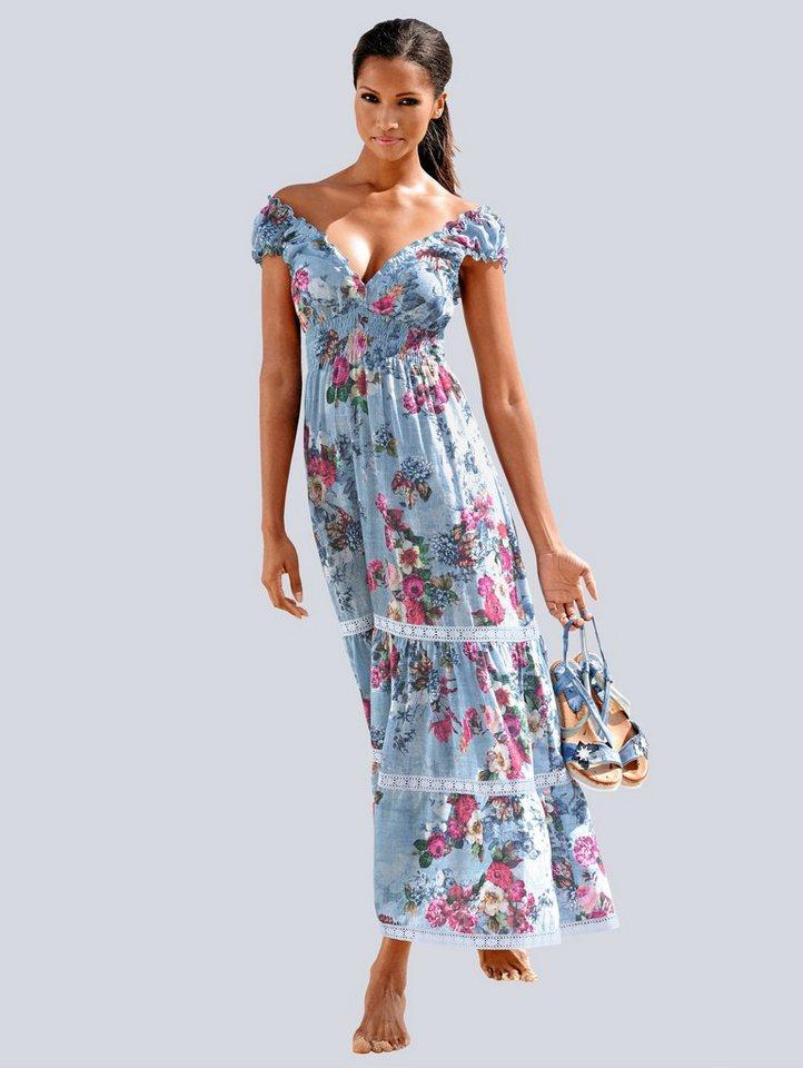 newest 581af 91e11 Alba Moda Strandkleid in Maxilänge online kaufen | OTTO