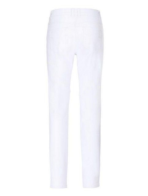 Hosen - Amy Vermont Jeans mit dezenter Waschung › weiß  - Onlineshop OTTO