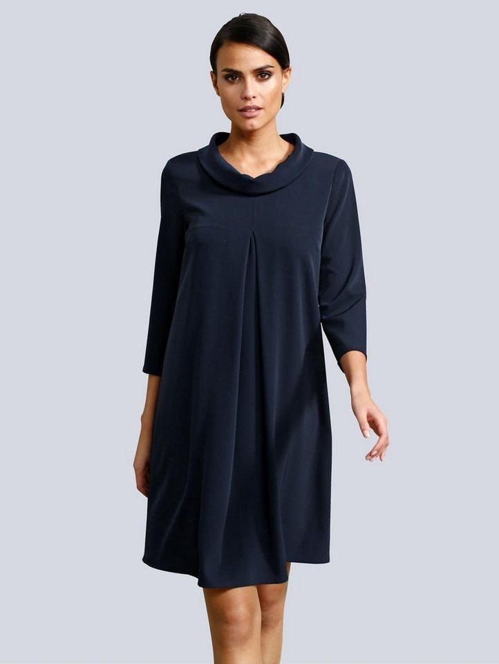 Festtagsmode - Alba Moda Kleid mit Rollkragen › blau  - Onlineshop OTTO
