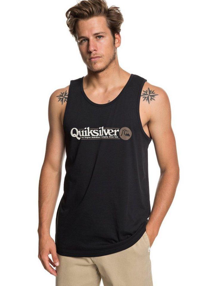 Herren Quiksilver  Tanktop Art Tickle schwarz | 03613374245297
