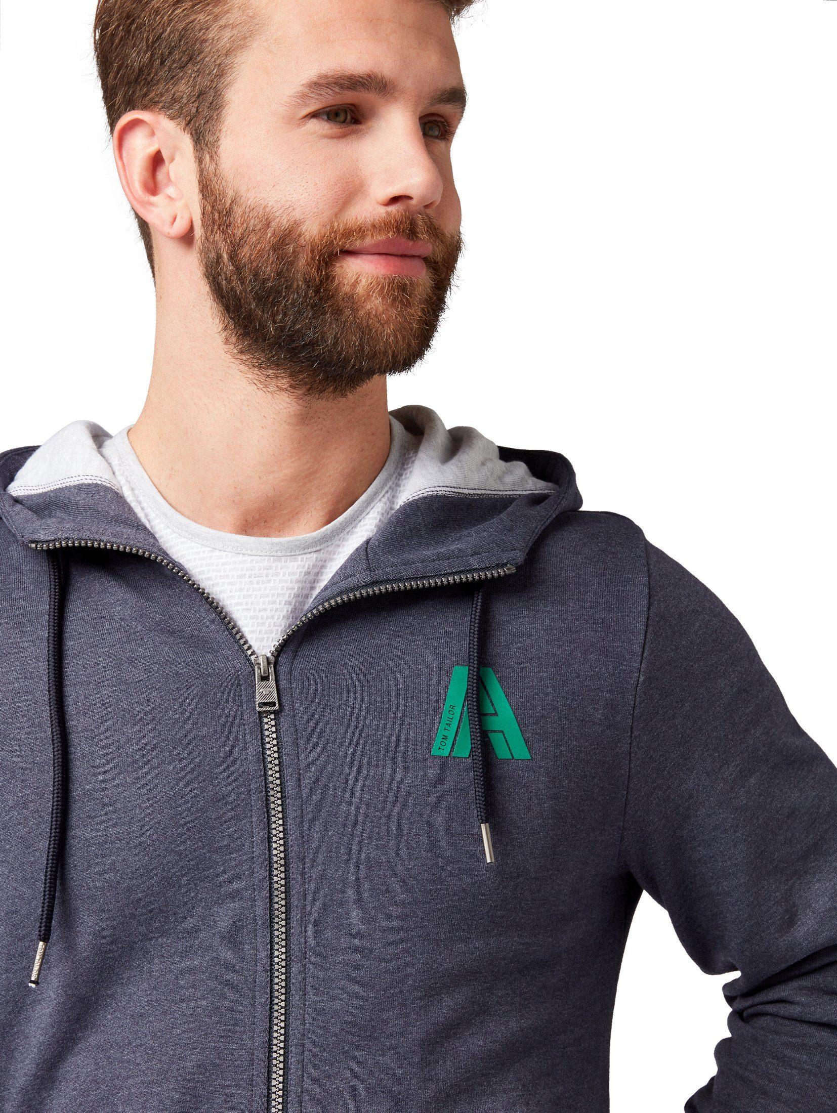 Sweatjacke »sweatjacke Online nbsp;« Kaufen Tailor Tom Fcl1KJ