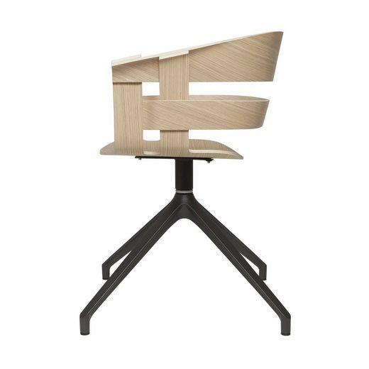 Design House Stockholm Armlehnstuhl »Wick mit Drehgestell«