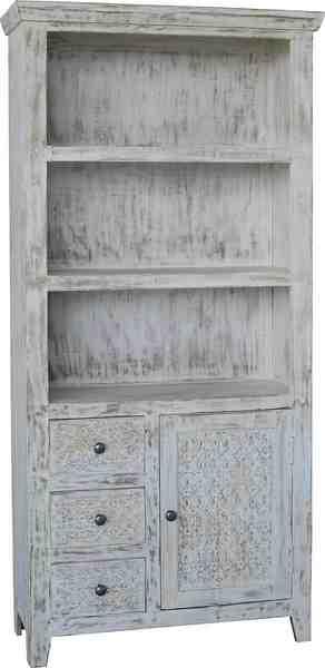KAWOLA großes Bücherregal mit Schubladen »MANDA«
