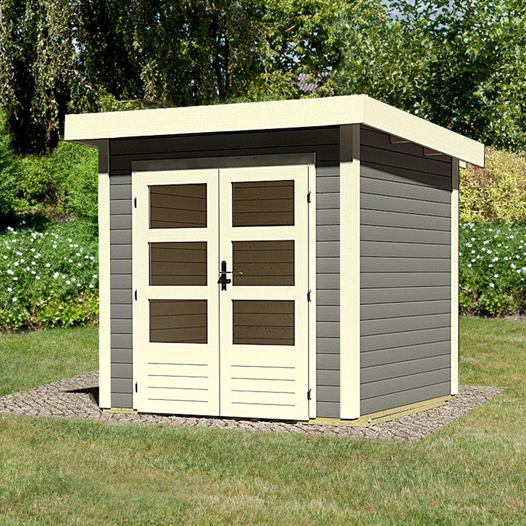 KARIBU Gartenhaus »Kandern 1«, BxT: 204x204 cm