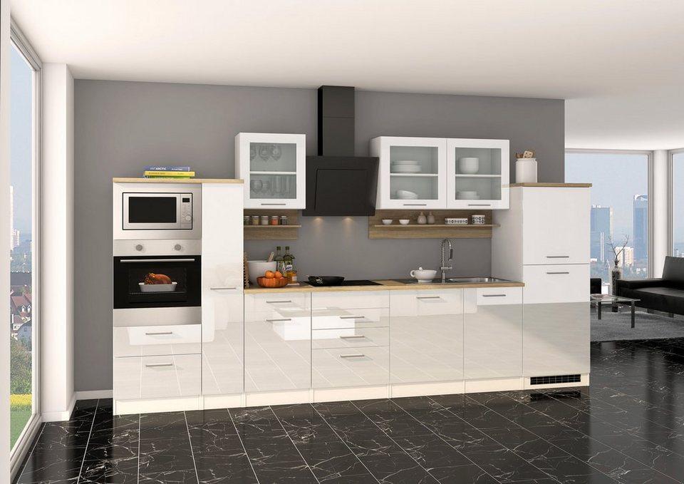 HELD MÖBEL Komplett-Set: Küchenzeile Mit E-Geräten